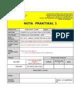 Nota Praktikal 1
