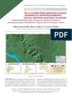 RÍOS RIVERA, E. y P. CARRETERO POBLETE. 2017. Interpretación de La Cosmovisión Amazónica Shuar a Través de Un Monolito Antropozoomorfo