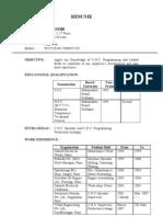 Bio-Data Format 5