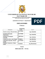 Informe de Laboratorio de Fisica II OSCILACIONES