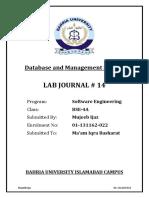 DBMS-Lab-14