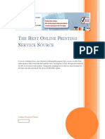 The Best Online Printing Service Source