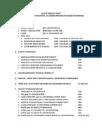 Daftar Riwayat Hidup Dan Riwayat Jabatan
