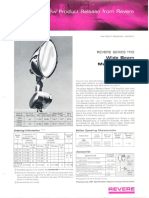 Revere New Product Release - 1110 Wide Beam Floodlight for Metal Halide Bulletin 1967