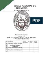 Informe 2 Granulometria Tamizado y Sedimentación