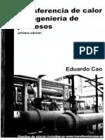 147583076 Transferencia de Calor en Ingenieria de Procesos Eduardo Cao 2