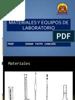 2. Materiales y Equipo de laboratorio