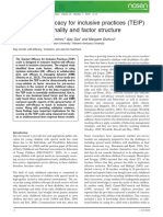 Park, Dimitrov, Das, Gichuru the Teacher Efficacy for Inclusive Practice TEIP Scale Dimensionality and Factor Structure