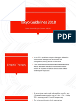 Tokyo Guidelines 2018