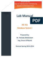 ISC 321 Lab Manual