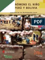 Fenomeno El Niño en Peru y Bolivia