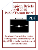 ISIL Champion Brief