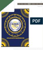 Delegate Handbook