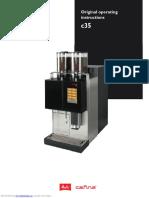 Melitta coffee machine c35 model