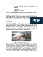 19-Design of 400m net span deck-type steel truss arch bridge over  Chongqing Daning River.pdf