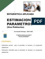 Estimacion de Parametros Una Población