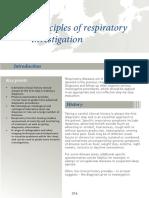 respiratory investigation