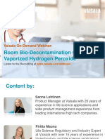 Vaisala Webinar Room Bio Decontamination Vaporized h2o2 180125150404