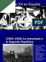 España Siglos XIX y XX