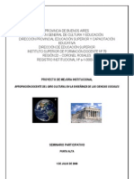 publicación Seminario Participativo final