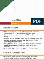 Malaria Pada Kehamilan