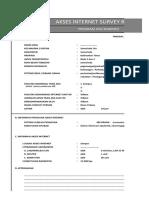 Form Survey Akses Internet-NS