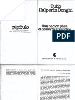 Halperín - Una Nación Para El Desierto Argentino