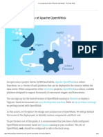 An Architectural View of Apache OpenWhisk
