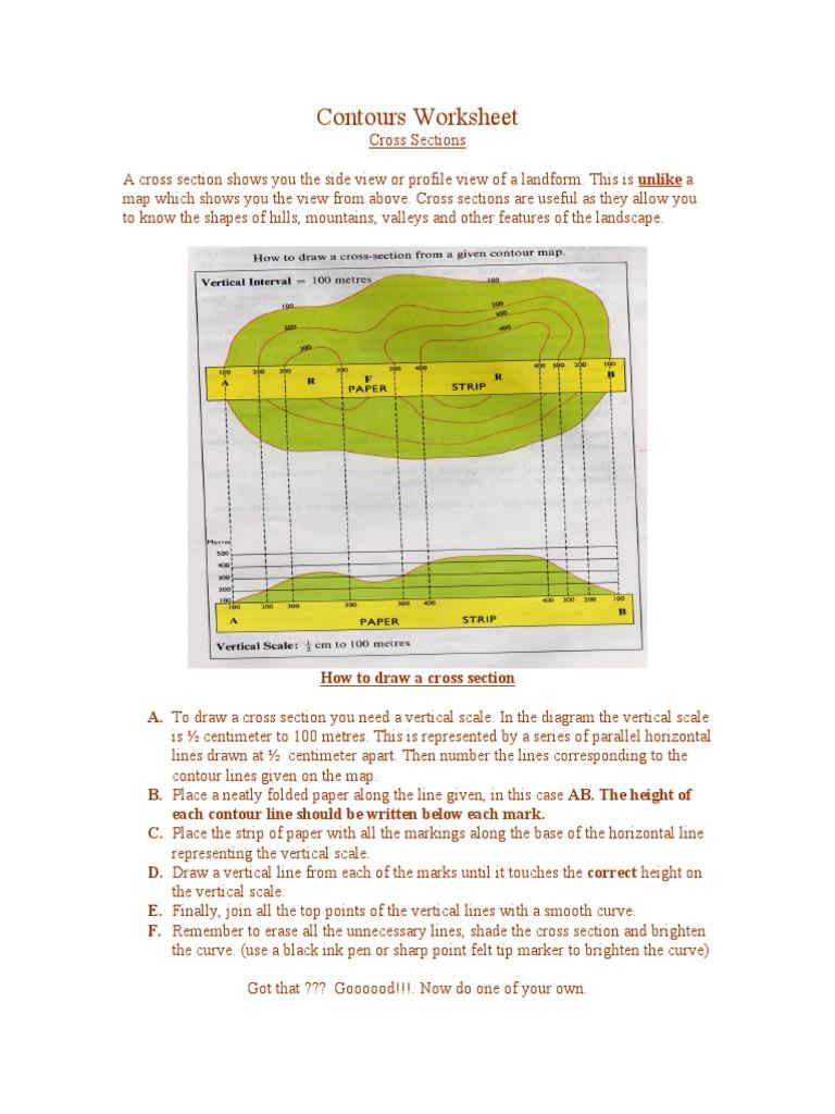 worksheet Contour Worksheet 1526000730v1