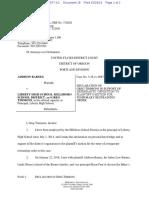 Greg Timmons Declaration