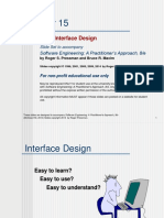Ch15-User Interface Design