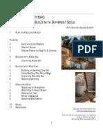 Soils for Earthbag Part 2