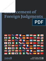 GTDT Enforcement of Foreign Judgment 2018 - SyCipLaw Philippine Chapter