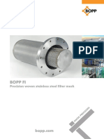 BOPP FI Precision Woven Stainless Steel Filter Mesh-Bueno