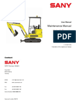 SY16 Maintenance Manual