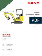SY16 Maintenance Manual