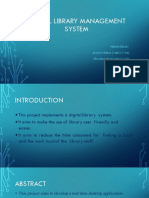 Digital Library Management System Ppt