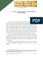 Presentificação, o retorno do trágico e o tema da violência na literatura brasileira