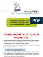 Campo Magnetico y Fuerzas Magneticas