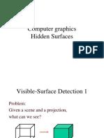 Hidden Surfaces