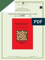 La gloriosa historia española del Juego de las Damas –Tomo III       176 páginas