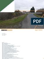 Dibden Lane - Design and Access Statement - Greenvolt Developments