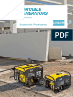 Portable Generators P Range Leaflet USA