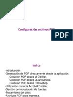 Configuración archivos PDF