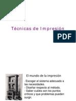Técnicas de Impresión