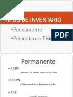 3. Tipos de Inventario