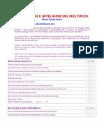 Evaluacion e Inteligencias Multiples