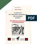 Lehning, Arthur - Du Syndicalisme Rèvolutionnaire à l'Anarchosyndicalisme