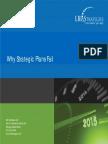 5 Reasons Why Strategic Plans Fail