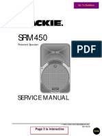 Mackie Srm450